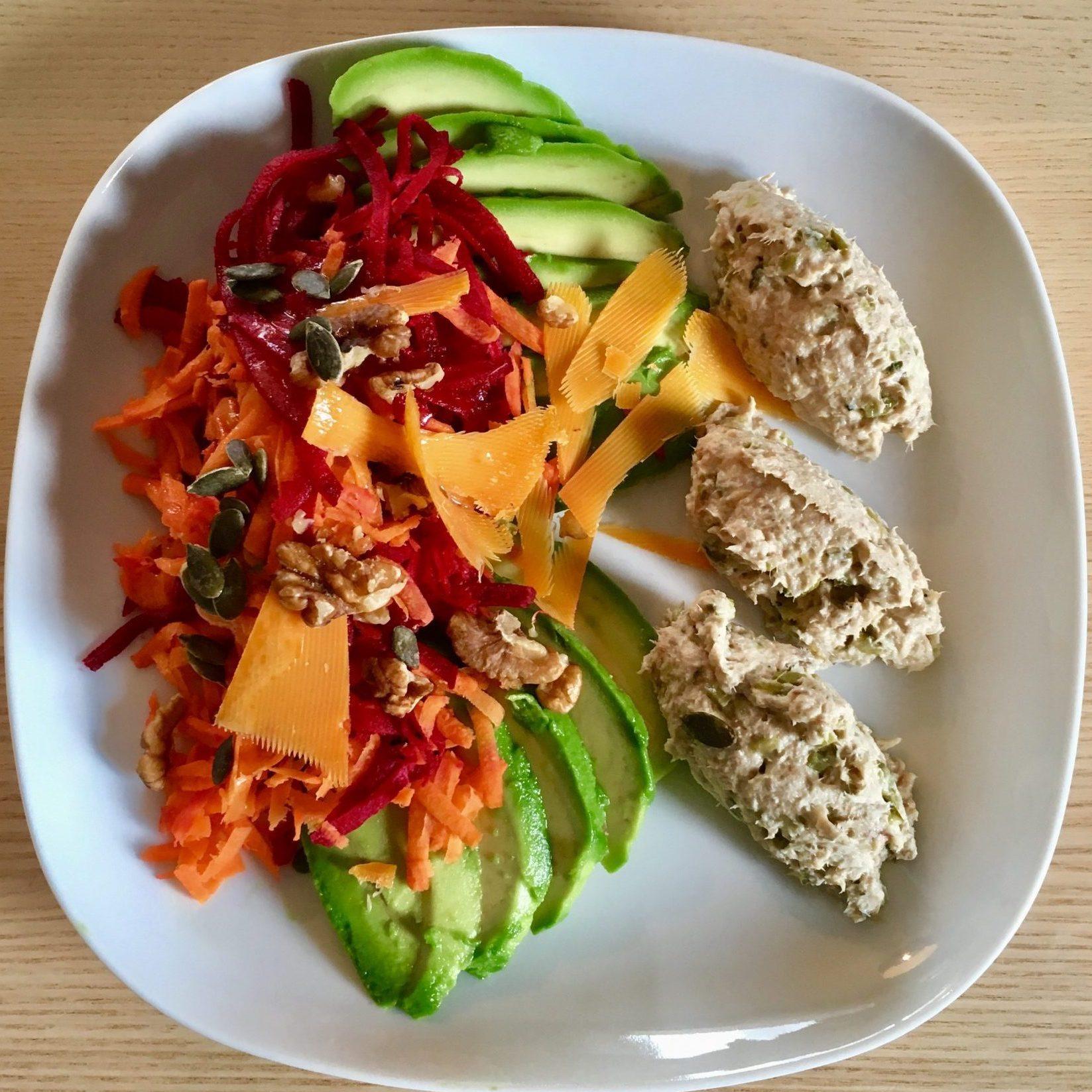 Salades composées version #HIVER