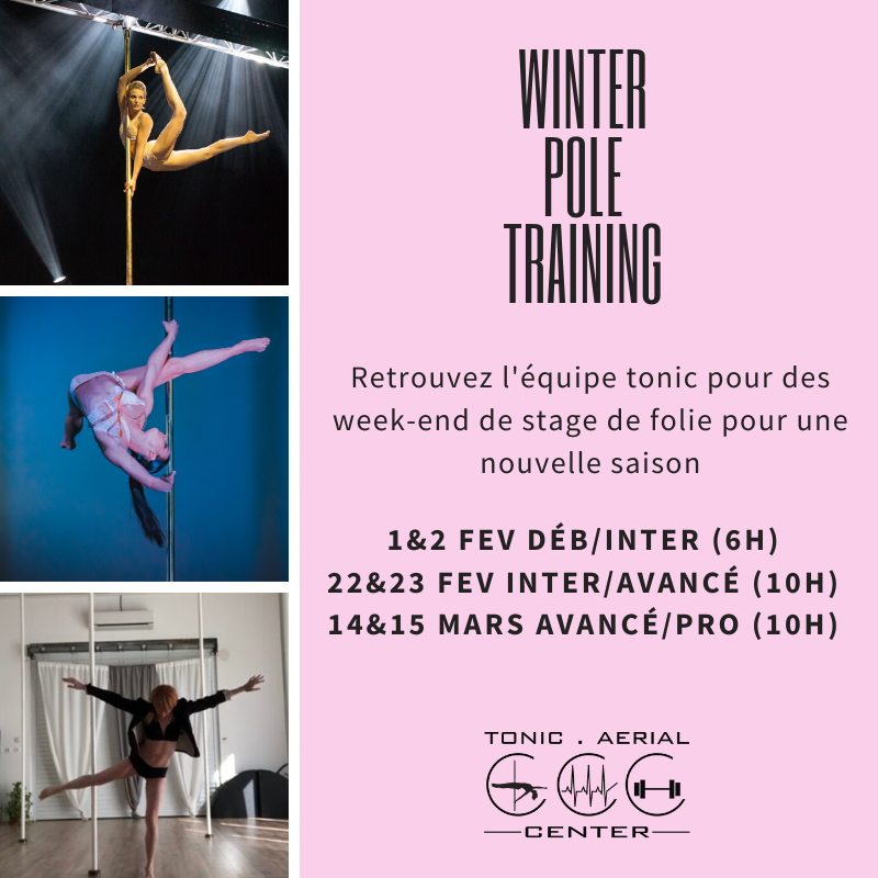 Stages intensif session Winter 2020