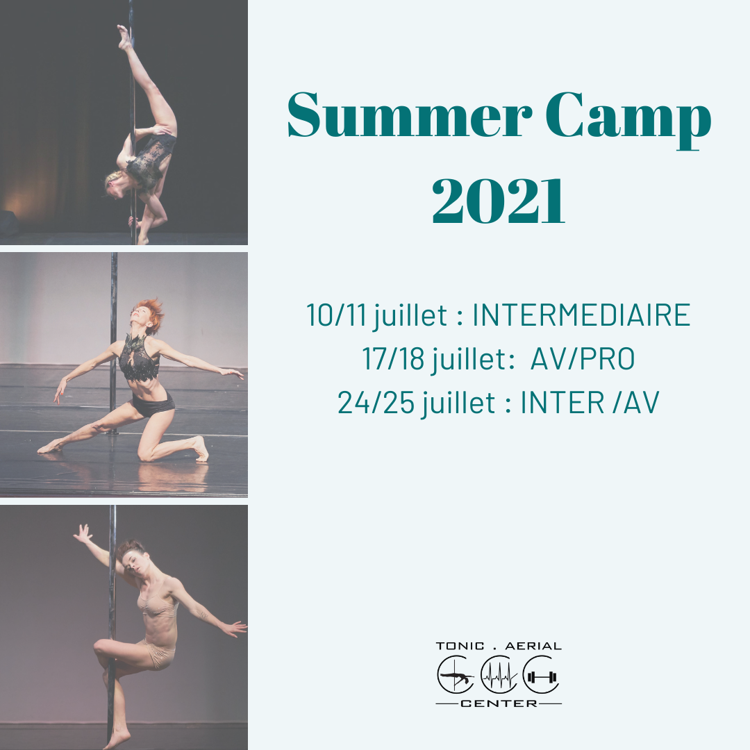 Summer camp 2021: Nos stages de pole dance